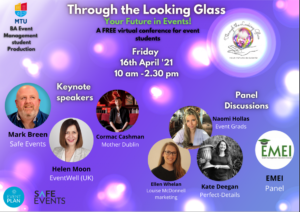 """""""Through the Looking Glass"""" The future of Events"""