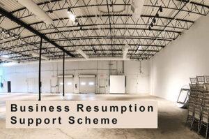 Business Resumption Support Scheme Information